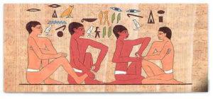 Pictogramme Egypte Massage Pieds et Mains